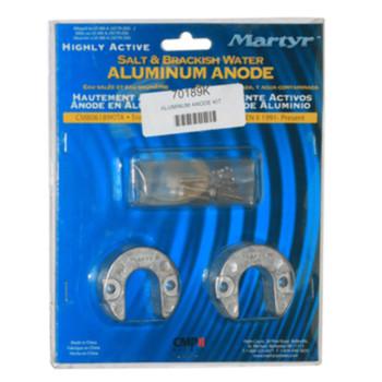 Mercury Alpha Gen II Aluminum Salt/Brackish 1991-Up Anode Trim Ram Kit 97-806189Q1