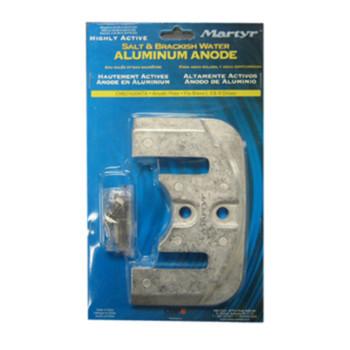 Bravo Flat Aluminum Anode Kit I II III Salt/Brackish Water 97-821630Q1