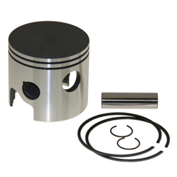 WISECO PISTON KIT STD. PORT, MERCURY 2L WITH BOOST PORT, TOP GUIDED BORE 3.125