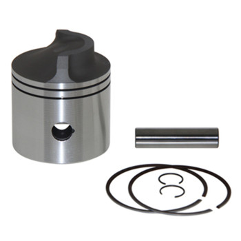 WISECO PISTON KIT STD., FORCE / CHRYSLER 50-130HP, BORE SIZE 3.312 MPN:3129PS