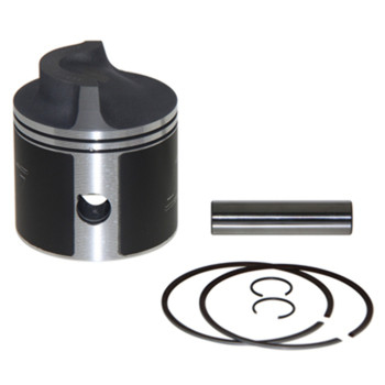 WISECO PISTON KIT .030, FORCE 70-150 CHRYSLER 135/140, BORE SIZE 3.405 BOTTOM GUIDED MPN:3151P3