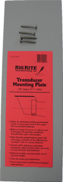 Rigrite Transducer Mounting Board