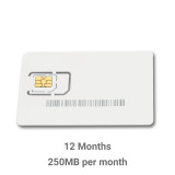 IoT EU28+  250 Mb per month for 1 Year