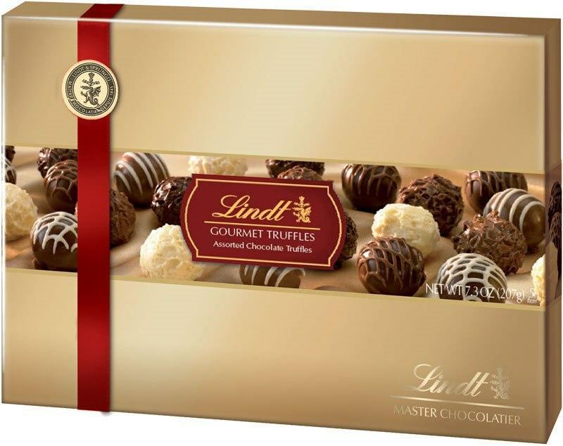 207G Lindt gourmet truffles.
