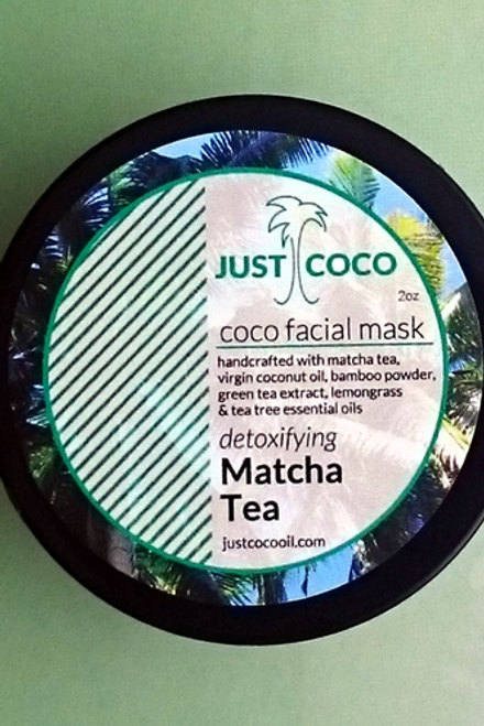 Matcha Tea Coco Facial Mask