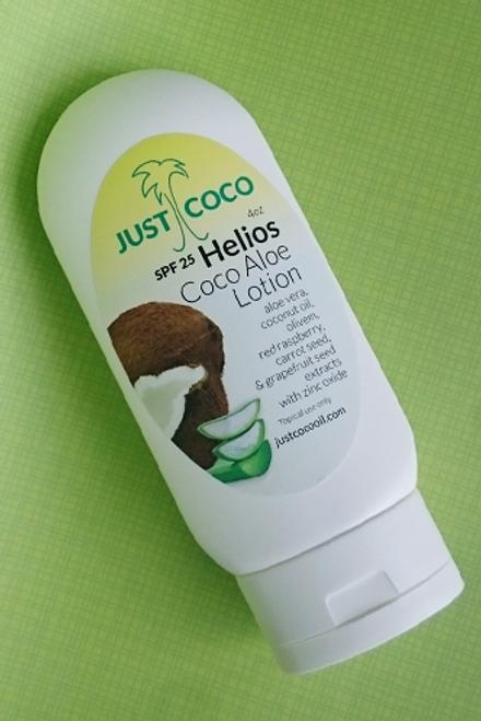 Helios SPF25 Coco Aloe Lotion