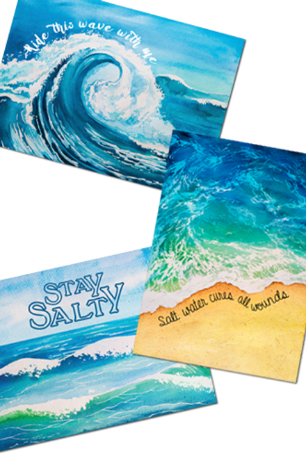 Salty Collection Note Cards