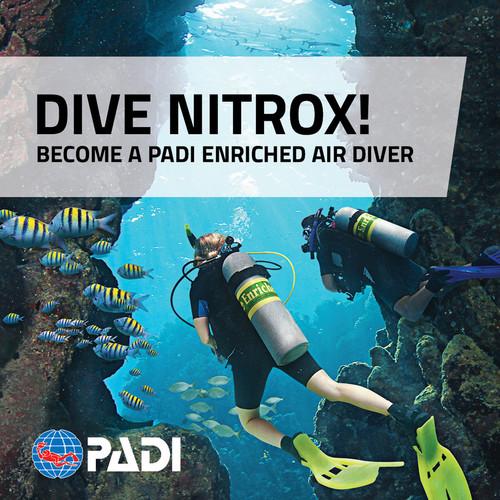 PADI Enriched Air Diver (NITROX)