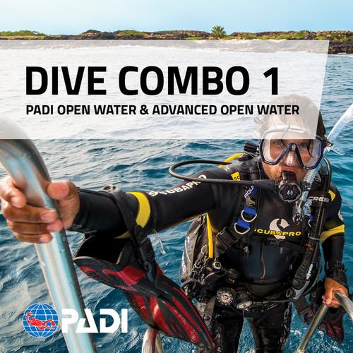 PADI Open Water & Advanced Open Water Combo Deal