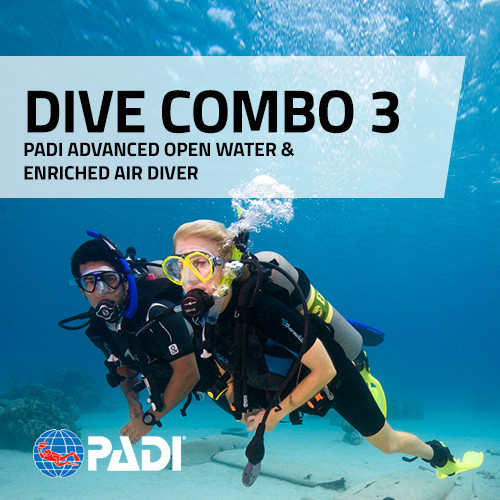 PADI Advanced Open Water and Enriched Air Combo Deal
