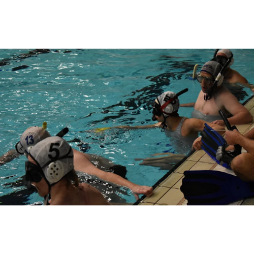 Basic underwater rugby