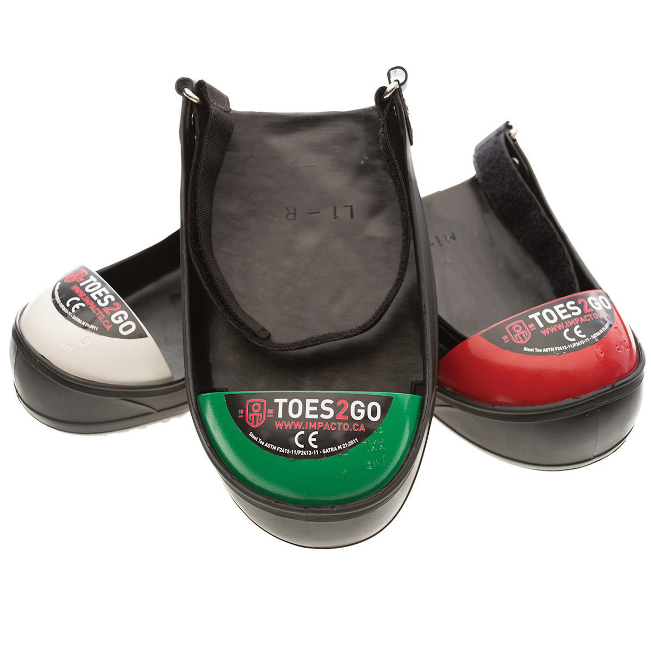 Size XL Impacto Impactoe Safety Steel Toe Cover Brand New