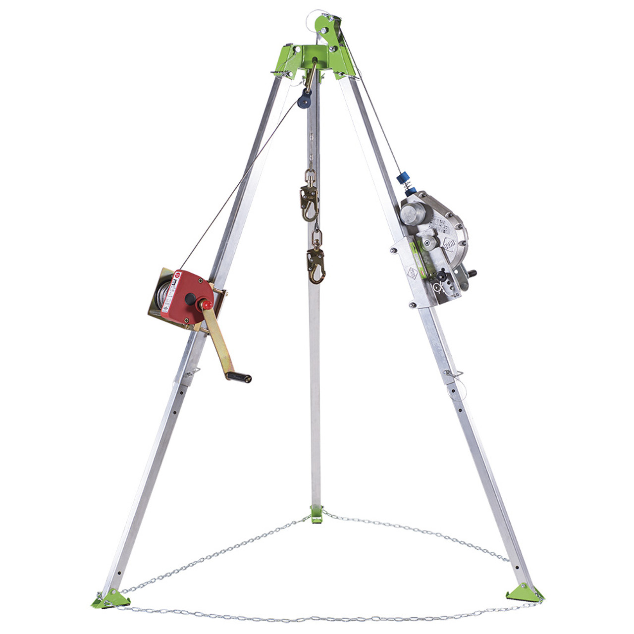 Sellstrom V85026 Confined Space Kit: Tripod, 3-Way 60' (18