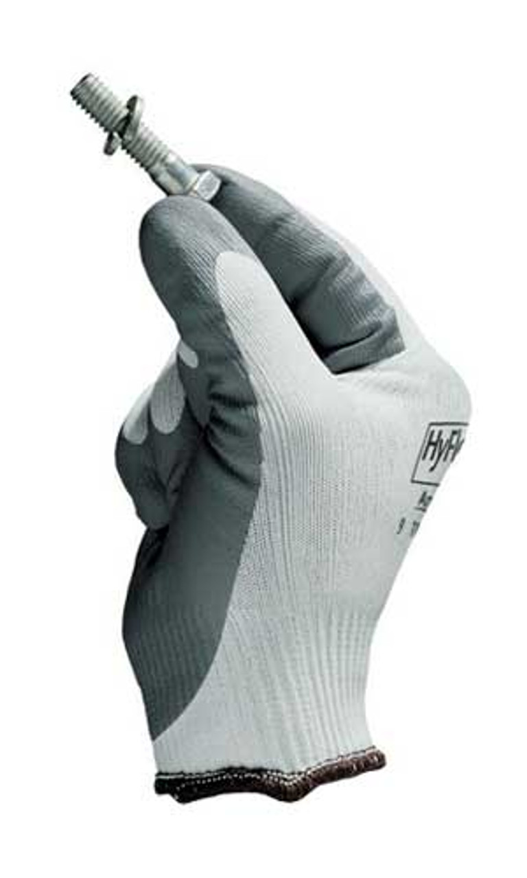 Ansell HyFlex Foam Nitrile Coated Palm Gloves 11 800 Size 7 3 Pair