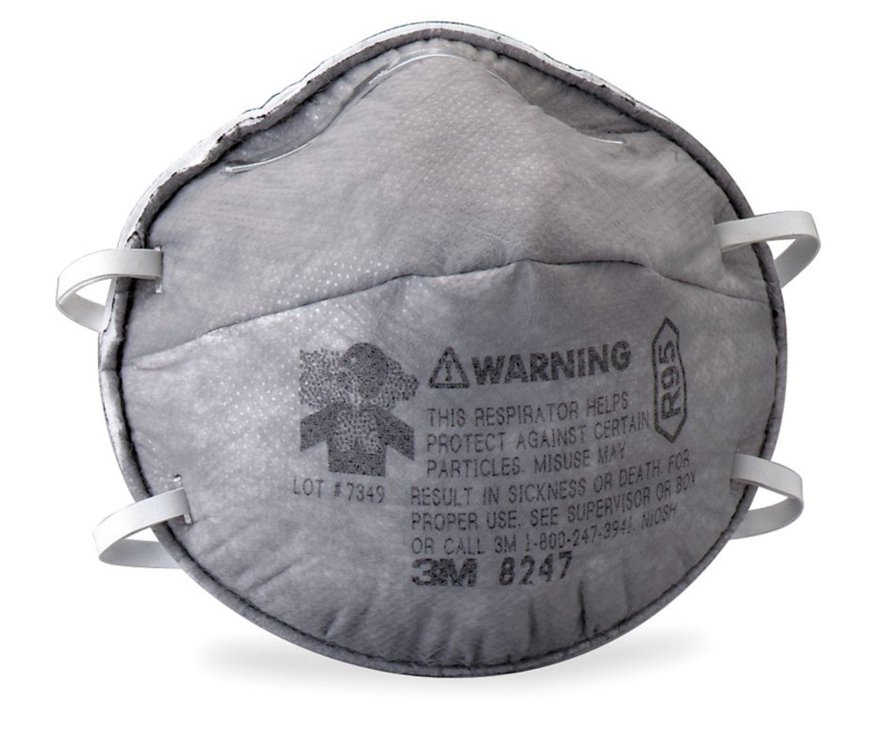 disposable organic vapour mask