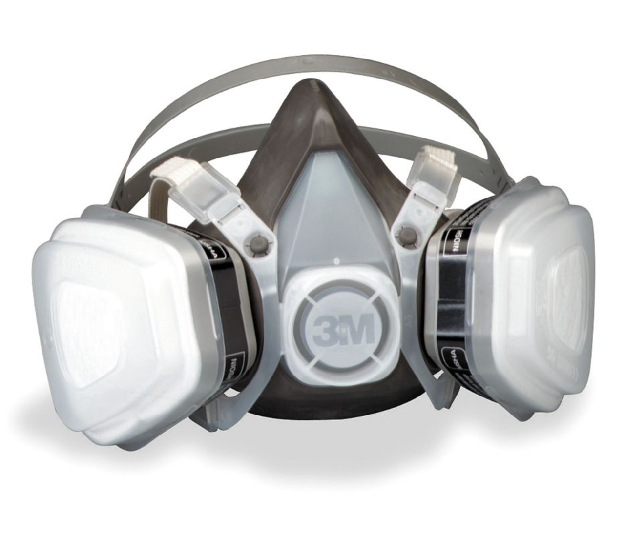 3m Half Disposable Respirator Series Assembly 5000 Facepiece 52p71