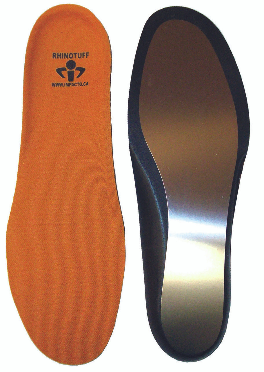 RHINOTUFF Impacto Puncture Resistant Workplace Insole Red Construction Rhino New