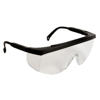 North by Honeywell XV204 Tectonic Series Eyewear Indoor//Outdoor Silver Mirror Anti-Scratch Lens and Gloss Black Temples Sperian