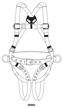 Tractel KIT-TCBZ Basic Tower Climbers Fall Protection Kit
