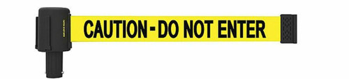 """Banner Stakes PL4074 PLUS Yellow """"Caution-Do Not Enter"""" Banner. Shop now!"""