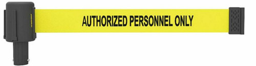 "Banner Stakes  PL4032 PLUS Yellow ""Authorized Personnel Only"" Banner. Shop now!"
