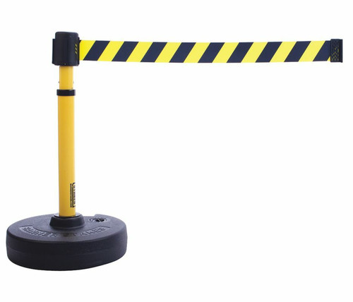 Banner Stakes PL4091 PLUS Barrier Set, Yellow/Black Diagonal Stripe Banner. Shop now!