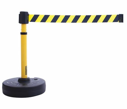 Banner Stakes PL4091 PLUS Barrier Set, Yellow/Black Diagonal Stripe Banner. Shop now!