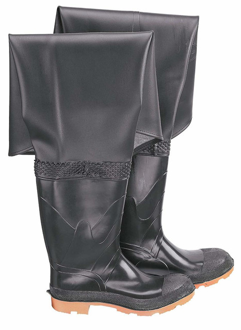 Onguard 86055 Plain Toe Hip Wader with Cleated Outsole