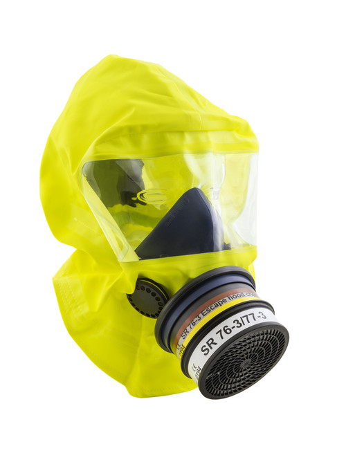 Sundstrom SR 77-3 Chemical & Smoke Escape Hood ABEK1-CO-P3