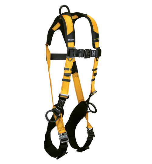 Falltech 7023BQC  Journeyman Flex Standard Non-belted FBH UniFit Alum 3D QC Legs/QC Chest