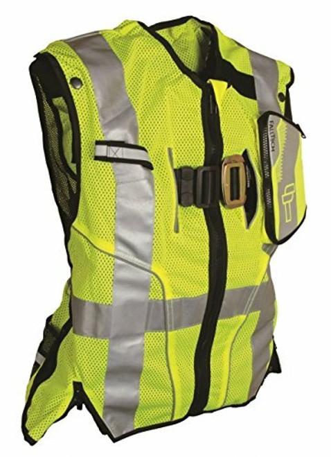 Falltech 5050SM Class 2 Safety Vest Lime S/M. Shop Now!