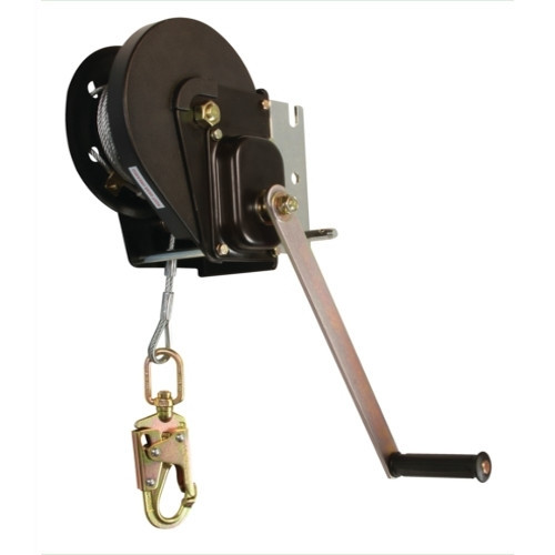 FallTech 7295M 120' Materials Winch with Galvanized Cable and Swivel Snap Hook. Shop Now!