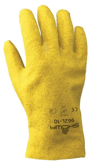 Showa 962 Fuzzy Duck PVC Coated General Purpose Gloves. Shop Now!