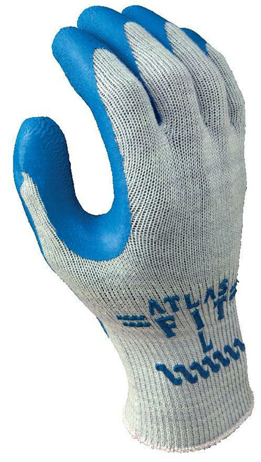 Showa Atlas Fit Flat Dipped Natural Rubber Gloves. Shop now!