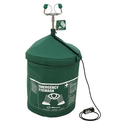 120V Portable Air-Pressurized Tempered Emergency Eyewash