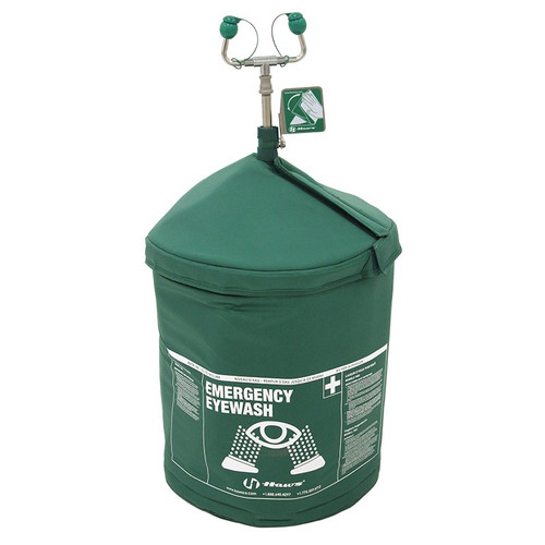 Haws 7603T240H 240V Portable Air-Pressurized Tempered Emergency Eyewash (HazLoc). Shop Now!