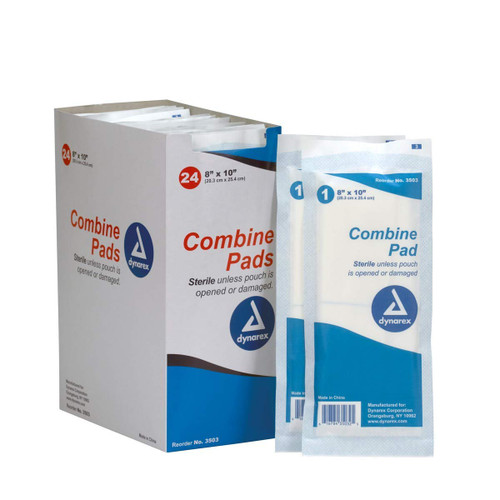 "First Aid 8""x10"" Trauma Pad, 24 per Box . Shop Now!"