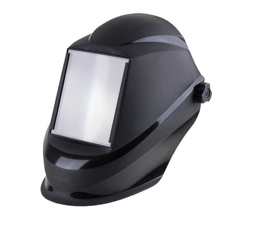 "Sellstrom S41200 Trident Series – 5-1/4"" x 4-1/2"" Welding Helmets - Fixed Front/Black. Shop Now!"