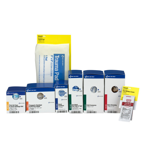 First Aid Only 90747 ANSI 2015 Retro Refill Pack For Medium Metal Food Service - (1350 Cabinets). Shop Now!
