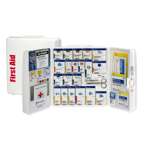First Aid Only 1301-FAE-0103 50 Person Large Plastic Smart Compliance Food Service Cabinet Without Medications. Shop Now!