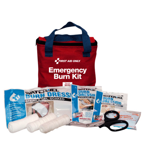 First Aid Only 3030 First Aid Burn Care Kit In Fabric Case. Shop Now!