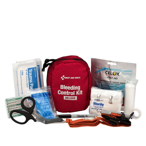 First Aid Only 91060 Bleeding Control Kit, Deluxe. Shop Now!