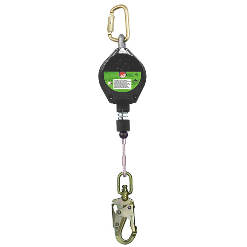 Sellstrom V845533010LE SRL with Galvanized Steel Cable, Snap Hook. Shop Now!
