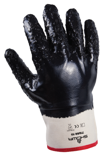 Showa 7166R-10 NitriPro Rough Finished Work Gloves. Shop now!