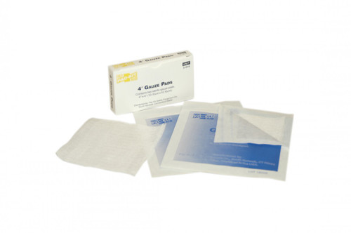 """First Aid Only FA-3-014 4""""X4"""" Sterile Gauze Pads, 2 Per Box . Shop Now!"""