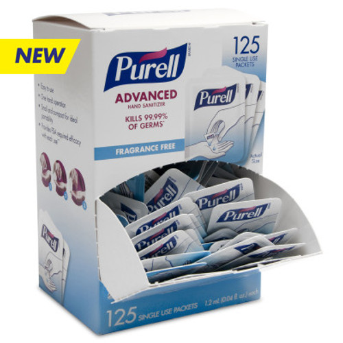 PURELL Advanced Hand Sanitizer Single Use. Shop now!