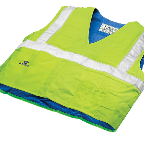 TechNiche Evaporative Cooling Vest - Traffic Safety ANSI Class II Compliant. Shop Now!