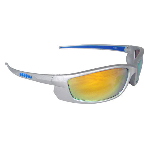 Radians Voltage Safety Eyewear (Electric Orange Lens, Silver Frame). Shop now!