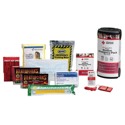 Student Emergency Pack Deluxe - without Food - Limited Qty Available.  Shop Now!