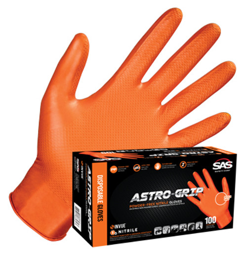 Buy Astro-Grip 7 mil Examination Orange Nitrile Gloves today!